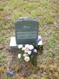 Bertha Caroline <I>McLemore</I> Adams