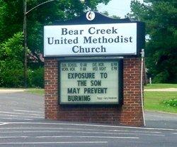 Bear Creek United Methodist Church Cemetery