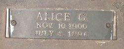 Alice G. <I>Suther</I> Appling