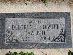 Delores Jean <I>Aalbu</I> Dewitt