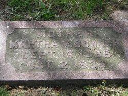 Martha Melissa <I>Adams</I> Bowder
