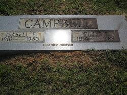 Isabell Elvira <I>Bennett</I> Campbell