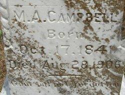 Mary A. <I>Watts</I> Campbell