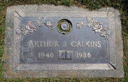 Arthur J Calkins