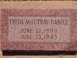 Freda Mae <I>Moutray</I> Daniel