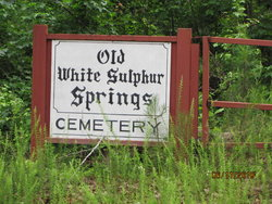 Old White Sulphur Cemetery