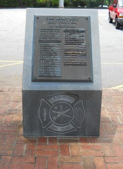 East Point Georgia Fire Department Memorial