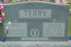 Agnes R <I>Puckett</I> Terry