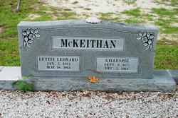 Lettie Virginia <I>Leonard</I> McKeithan