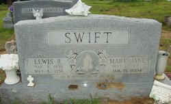 Mary Jane <I>Gamblin</I> Swift Bates