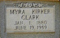 Myra Ellen <I>Hatch</I> Clark