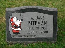 Alverda Jane <I>Shreckengost</I> Biteman