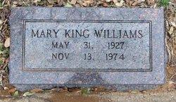 Mary Inez <I>King</I> Williams
