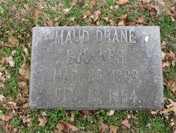 Maud <I>Drane</I> Buckner