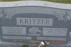 Clarence Wheat Kritzer, II