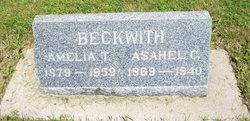 "Amelia T ""Nellie"" <I>Clark</I> Beckwith"
