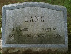 Hazel W Lang