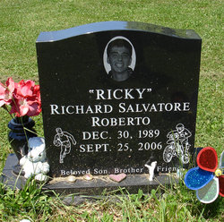 "Richard Salvatore ""Ricky"" Roberto (1989-2006) - Find A Grave"