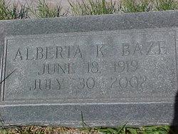 Alberta Estelle <I>Kay</I> Baze