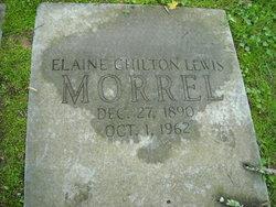 Elaine Chilton <I>Lewis</I> Morrel
