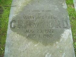 Mary <I>Morrel</I> Crawford