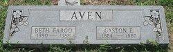 "Nellie Elizabeth ""Beth"" <I>Fargo</I> Aven"