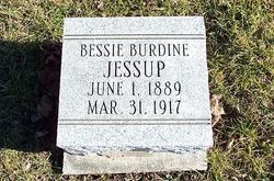 Bessie E. <I>McCormick</I> Burdine Jessup