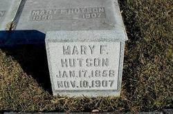 Mary F Hutson