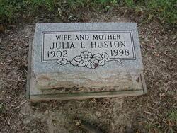 Julia E. <I>Hinton</I> Huston