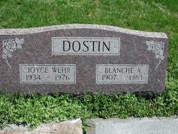 Blanche Adrian <I>Clubbs</I> Dostin