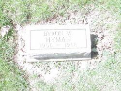 Byron M. Hyman