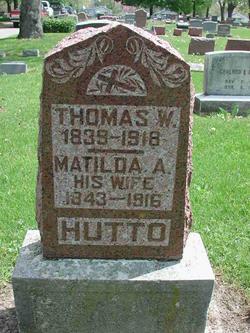 Matilda Ann <I>Brown</I> Hutto