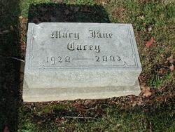 Mary Jane <I>Heater</I> Carey