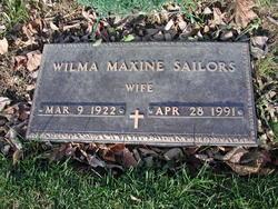 Wilma Maxine <I>Ormsby</I> Sailors