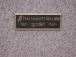 Edna Charlotte Artis
