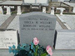 Thecla Marguerite <I>Williams</I> Wiegand