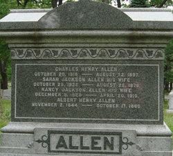 Nancy <I>Jackson</I> Allen