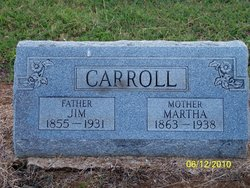 Martha Jane <I>Risinger</I> Carroll
