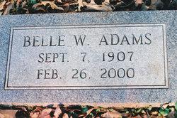 May Belle <I>Wilson</I> Adams