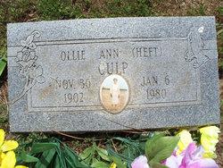 Ollie Ann <I>Heft</I> Cross