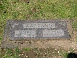 "Anna Bervine ""Annie"" <I>Bergeson</I> Aasland"