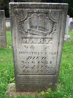 Mary <I>Stotler</I> Cash