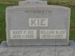 Mary F <I>Jones</I> Kie
