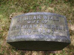 Delilah <I>Weld</I> Andrews