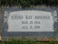 """Kiyoko """"Kay"""" Brooner"""
