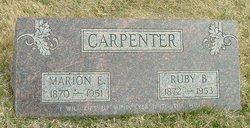 Marion Ernest Carpenter