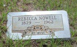 Rebecca Ann <I>Joplin</I> Nowell