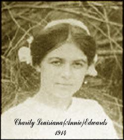 """Charity Louisiana """"Annie"""" <I>Edwards</I> Perry"""