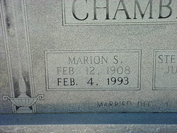 Marion Sylvester Chambers