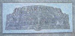 Mary Ann <I>Norris</I> Barton